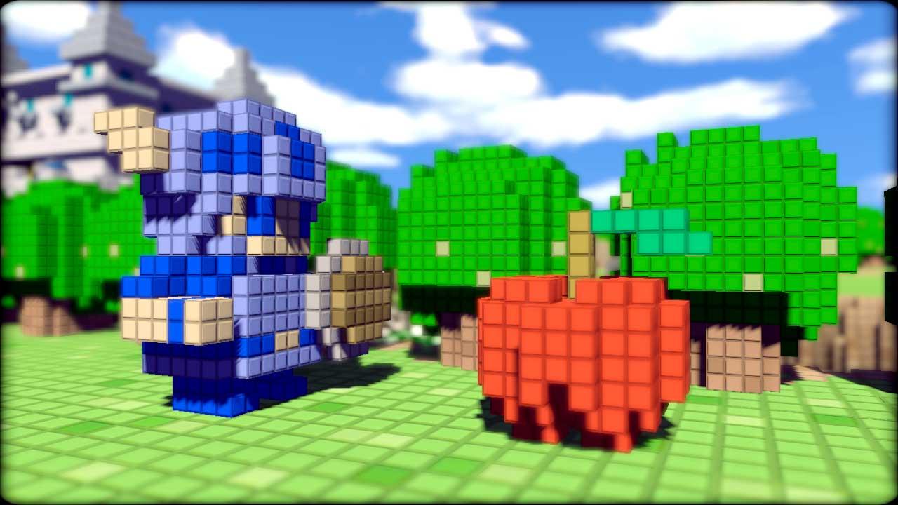3D Dot Game Heroes: Etwas zu viel Retro