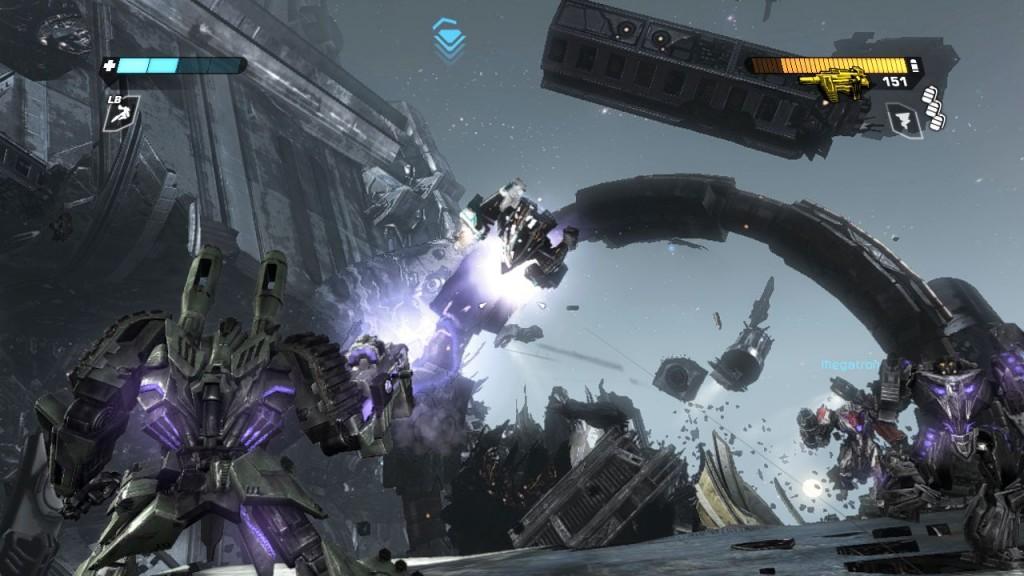 Nicht alles ist optisch das Maß aller Dinge, aber Kampf um Cybertron sieht sehr gut aus.