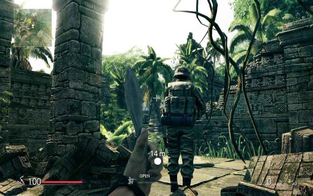Anschleichen ist möglich! Sniper: Ghost Warrior besitzt aber insgesamt zu wenige Taktik-Elemente..für eine Scharfschützen-Simulation!