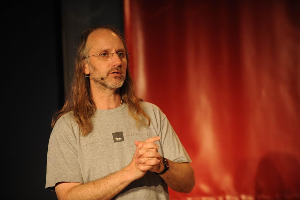 Herr Hillemann auf der fmx 09 @ Reiner Pfisterer