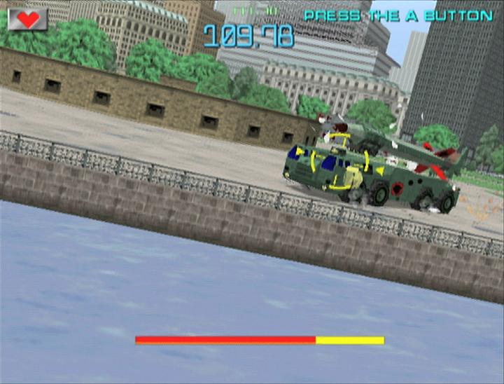 Gunblade N.Y.: Optisch nicht für die Wii aufpoliert.