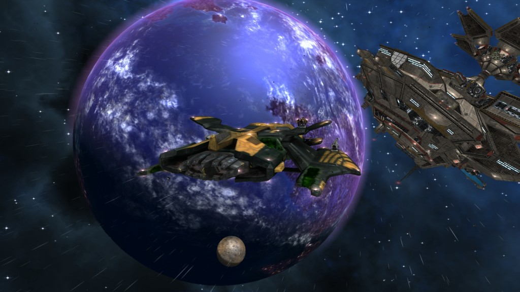 Darkstar One: Broken Alliance ist einer der ersten Xbox 360 - Titel von Kalypso. Erschien nach dem Kauf von Ascaron und den Lizenzen des dt. Studios.