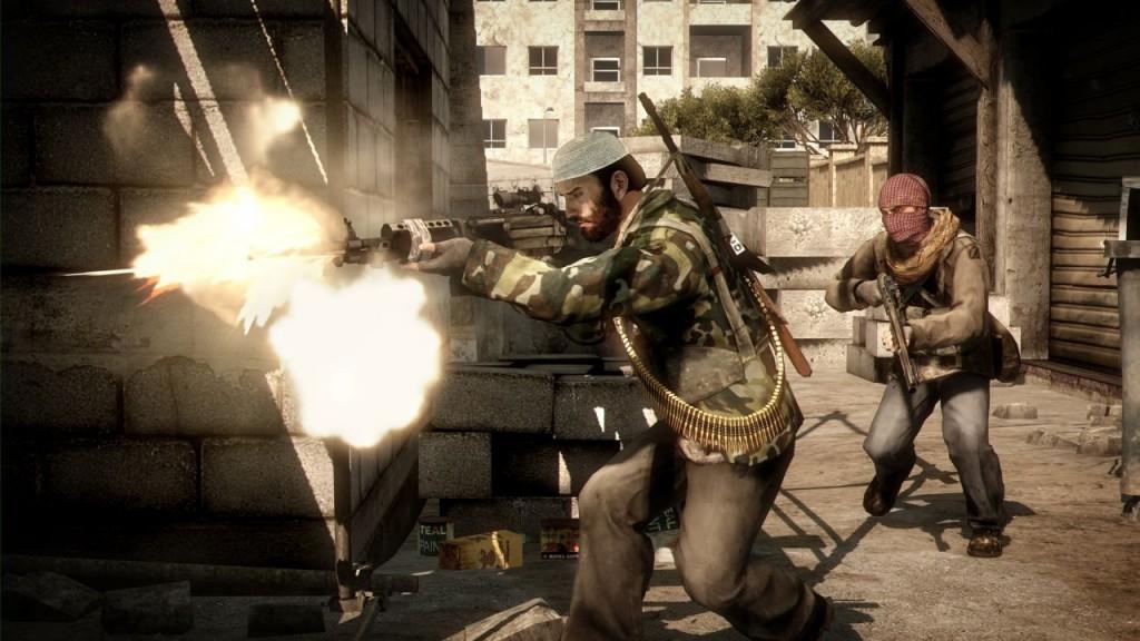 Im Singleplayer sind die Gegner noch die Taliban. Im Multiplayer inkonsequenterweise nicht mehr.