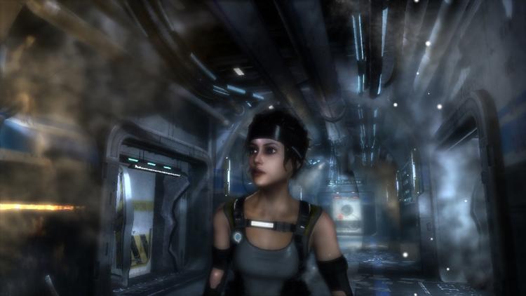 Ein wenig erinnert Protagonistin Kate an Lara Croft. Oder an..tja..wen eigentlich?