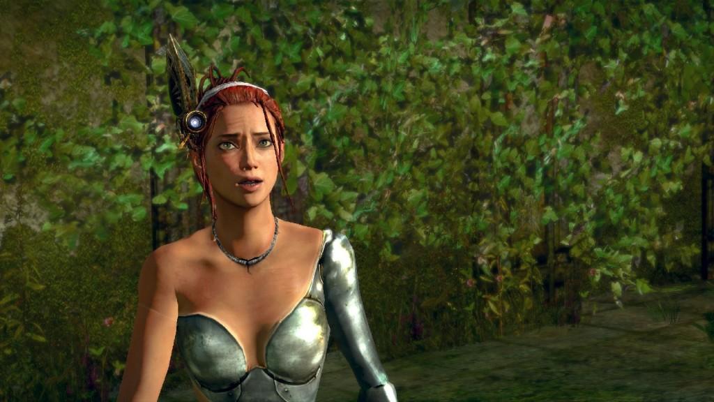 Nüchtern betrachtet haben sogar die Emotionen der Charaktere gegenüber Heavenly Sword nachgelassen. Liegt es an der Unreal 3 - Engine?