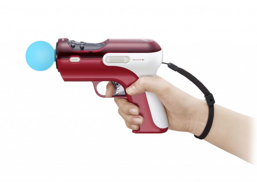 Den Move-Controller der PS3 steckt man einfach und schnell ins Shooting Attachment.
