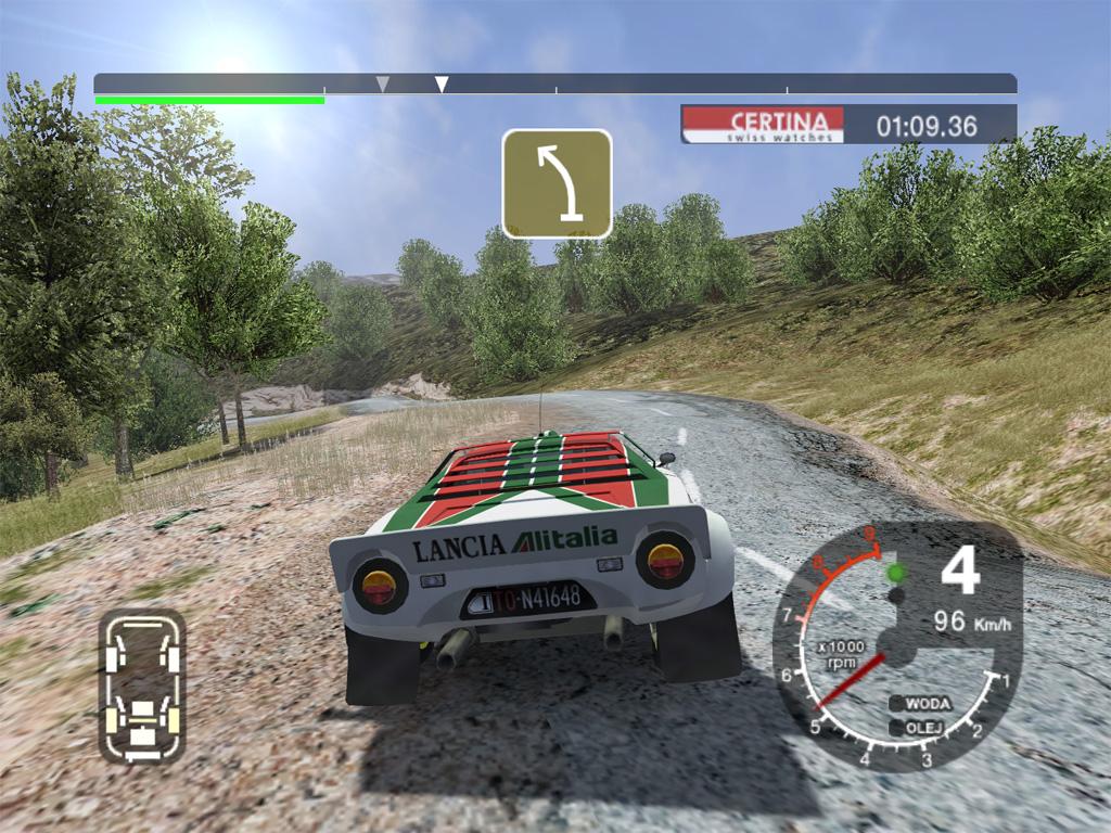 Colin McRae Rally 2005: Sieht auch heute gar nicht mal so übel aus, und spielerisch kann man ebenfalls kaum meckern - abgesehen vielleicht vom einsteigerfeindlichen Schwierigkeitsgrad