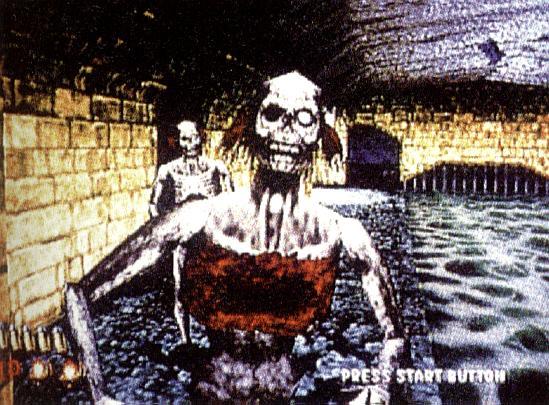 Sieht furchtbar aus, nicht wahr? Aber das ist kein brandneues Wii-Spiel (Spaß!), sondern The House of the Dead vom Sega Saturn.