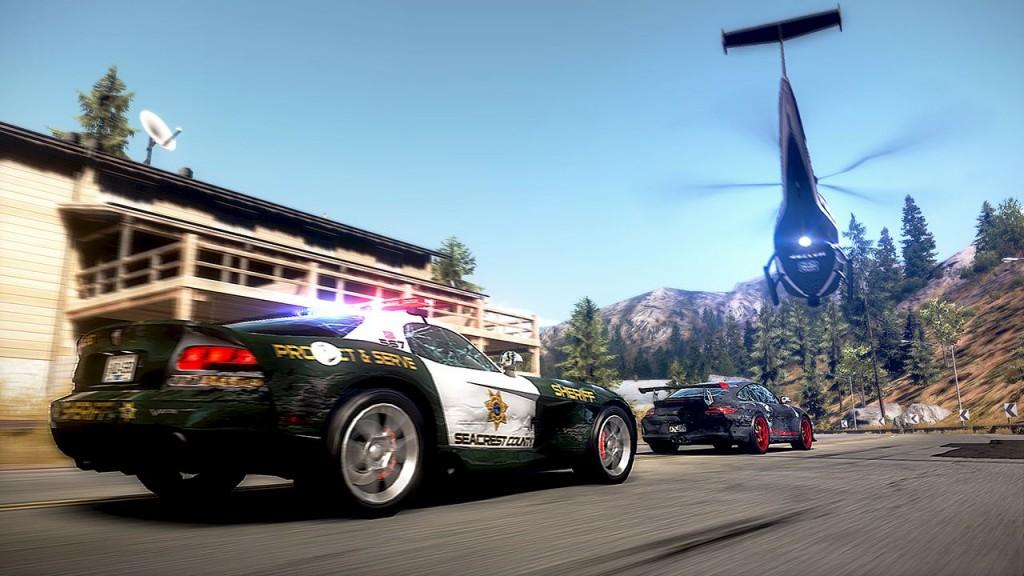Need for Speed Hot Pursuit: Action auch auf der Seite der Polizei.