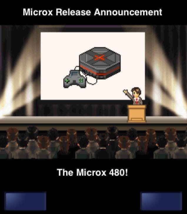 Frisch enthüllt: Die neue Microx-Konsole.