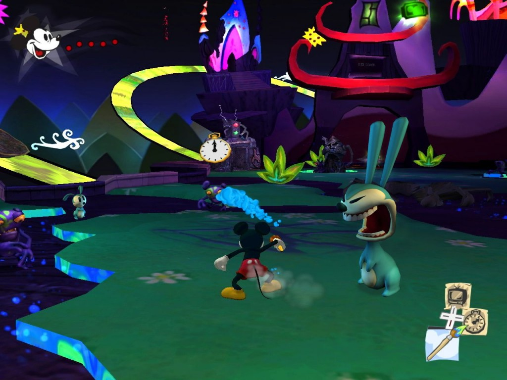 Interessant: Der Screenshot stammt vom Oktober 2009. Ein Jahr vor dem Release sah das Spiel auch noch abstrakter aus.