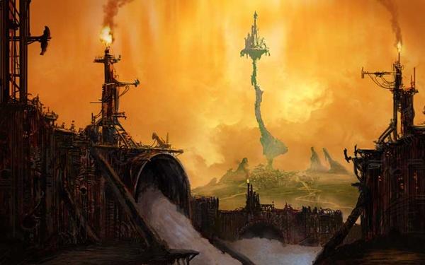 Micky Epic: Das war eine der ersten Artwork-Grafiken, die zur Ankündigung des Spiels veröffentlicht wurden.