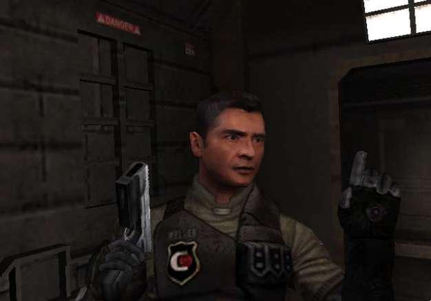 Die Charakterdarstellungen bei Dead Space Extraction HD haben sich kaum verändert gegenüber der Wii-Fassung. (Screenshot: Wii-Version)