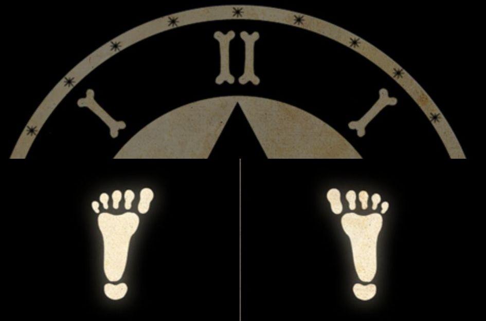 Eure einzige Möglichkeit aus dem Reich der Toten zu entkommen: Kompass und Füße