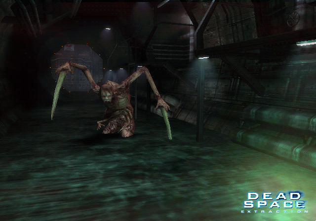 Dead Space Extraction: Horror, widerliche Necromorphs, spannende Geschichte - auch auf der PS3 (Screenshot: Wii-Version)