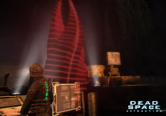 Dead Space Extraction: Der alltägliche Job fährt die Crew einer Raumstation alsbald in den Wahnsinn! (Screenshot: Wii-Version)