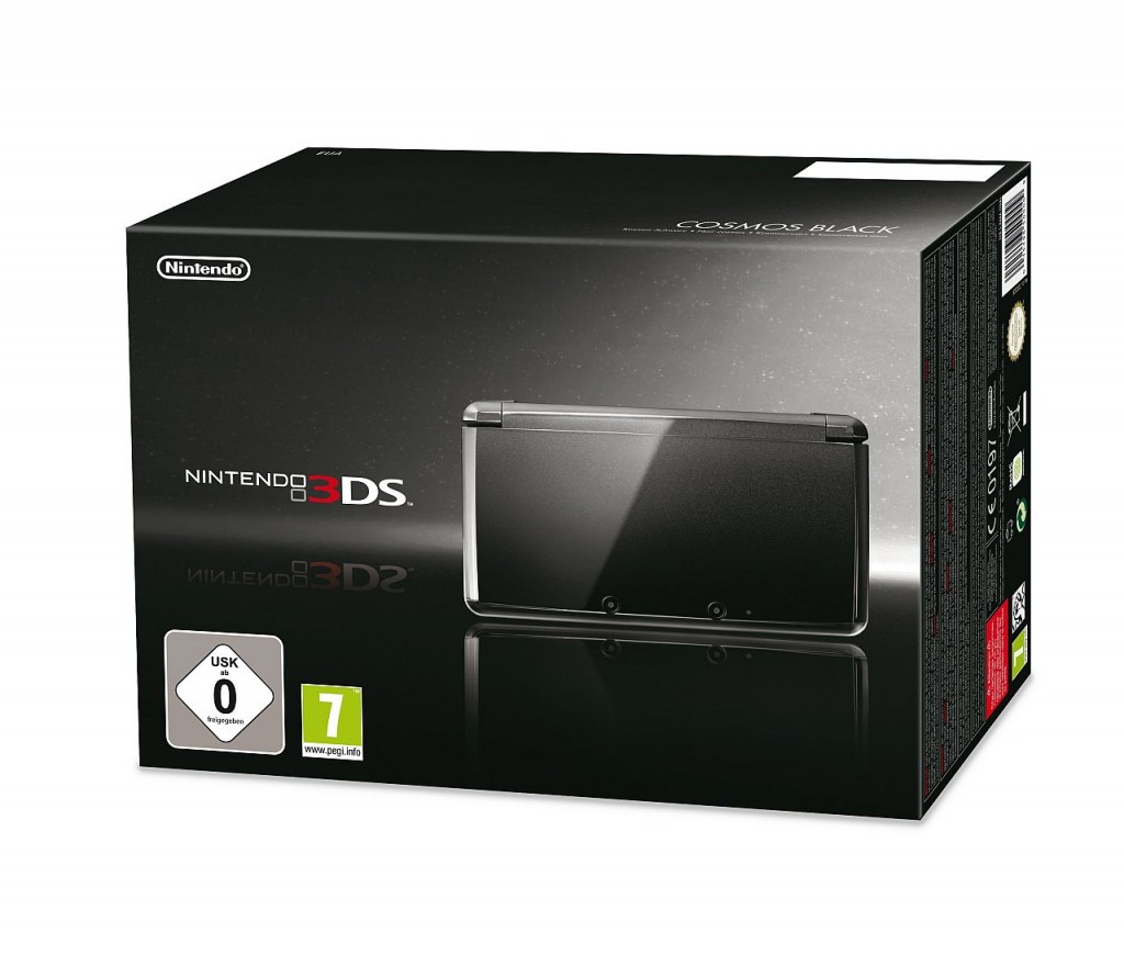 Nintendo 3DS: Schicke Verpackung, stylisches Gerät - aber für 250 Euro ein ziemlich mickriges Einsteigerpaket