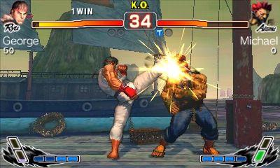 Super Street Fighter IV sieht auf dem 3DS fast genauso gut wie auf der großen Konsole aus