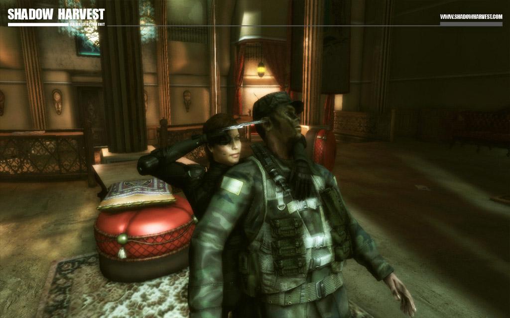 Die Stealth-Passagen mit Myra-Lee machen deutlich mehr Spaß.