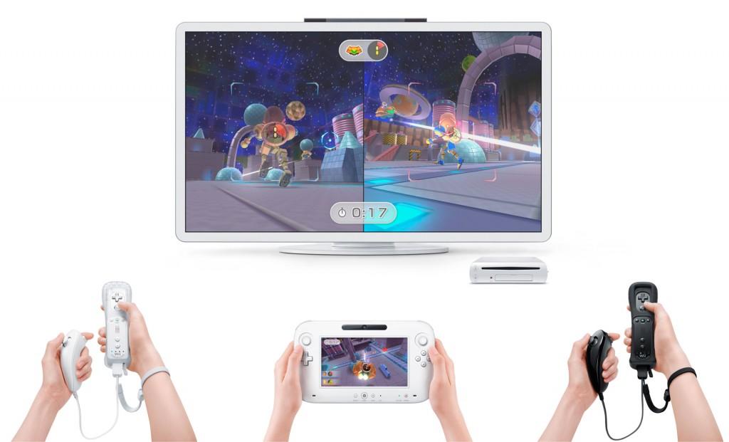 Wii U: Na toll. Gespielt wird mit maximal einem Controller.