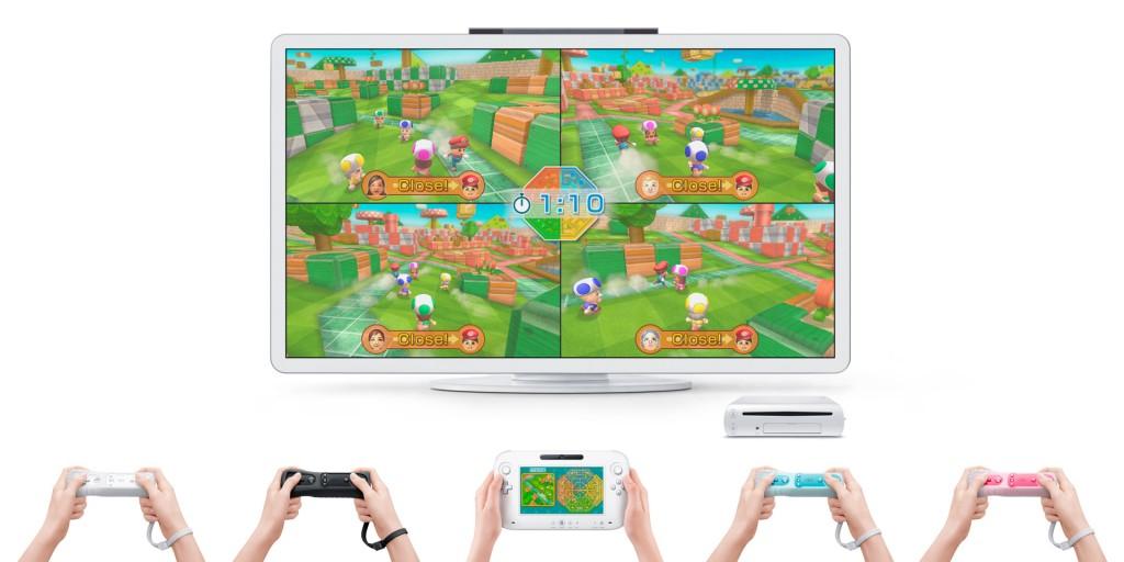 Nicht im Bild zu sehen, aber: Laut Nintendo wird man auch mit dem 3DS spielen können.