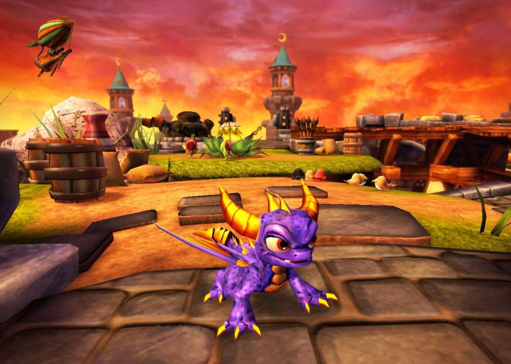 Das Spiel trägt zwar den Namen des früher mal beliebten Drachens, aber er hat quasi nur eine Gastrolle. (Foto: Activision Blizzard)