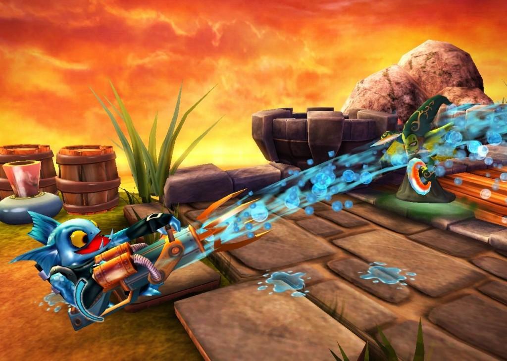 Alle Figuren im Spiel (bzw. in der Realität) besitzen individuelle Fähigkeiten und Waffen. Letztlich entscheidend ist aber die Wahl des Elements. (Foto: Activision Blizzard)