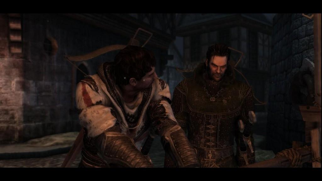 Die beiden Protagonisten des Spiels: Denz de Bayle und Esteban Noviembre (Foto: DTP)