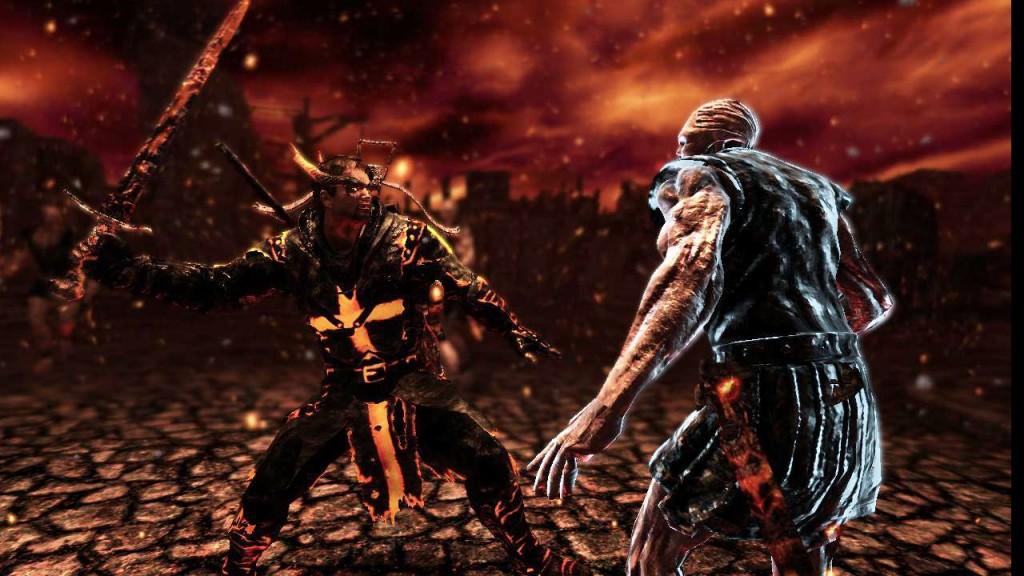 Die Hölle in The Cursed Crusade. Sieht teils gut aus, ist aber irgendwie auch keine Sensation. (Foto: DTP)