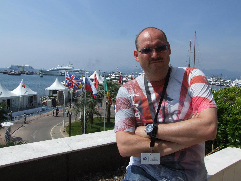 Oliver Krekel während der diesjährigen Filmfestspiele in Cannes (Foto: DigiDreams Studios)