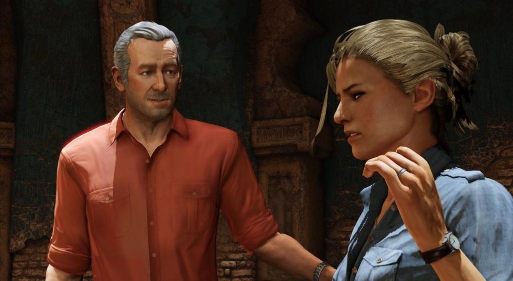 Da! Rechts im Bild! Das ist Elena. Von der kann sich Nathan irgendwie auch nicht trennen... (Foto: Naughty Dog)