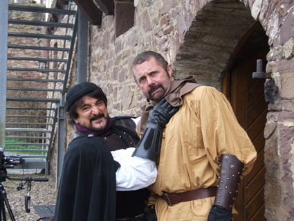 Tom Savini und Kane Hodder  ´behind the scenes´ (Foto: DigiDreams Studios)