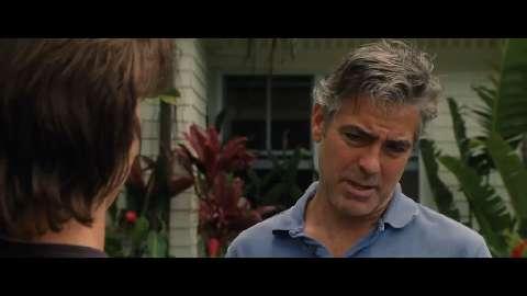 George Clooney als aufopfernder Vater. Dramatisch.