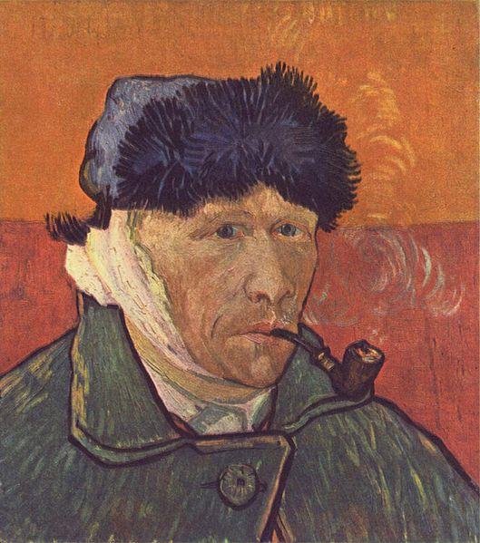 VIncent mit einem Ohr. Tja, er wurde in diesem Fall als Aufhänger missbraucht. (Foto: Wikipedia)