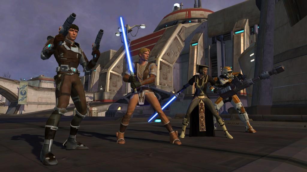 The Old Republic brachte etwas Erinnerungen zurück. (Foto: EA)