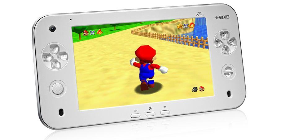 Offizielles Bild vom Hersteller: Mario 64. (Foto: JXD)