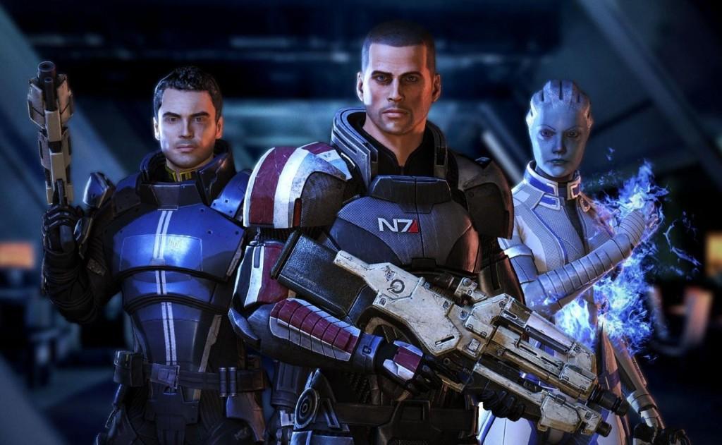 Schon interessant: Bis auf 1-2 Ausnahmen bewirbt Bioware den männlichen Shepard. (Foto: Bioware)