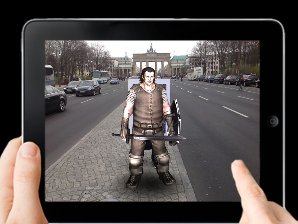 Rollenspiel am Brandenburger Tor? (Foto: Live Action Games GmbH)
