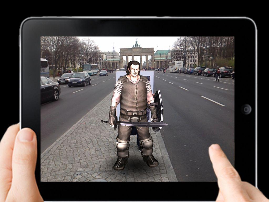 Rollenspiel am Brandenburger Tor? (Foto: Live Action Games GmbH)