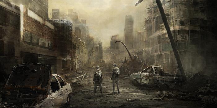 Das Endzeit-Szenario wird in Halle/Saale gedreht, sofern es mit der Finanzierung klappt. (Foto: Kickstarter.com)