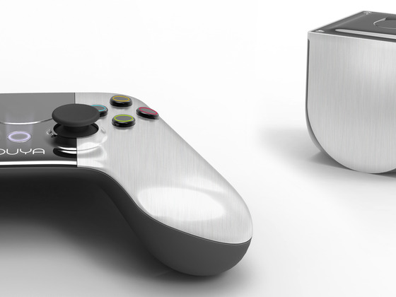 Ouya - die offene Spielkonsole, ebenfalls ein Kickstarter-Projekt, möchten die Entwickler ebenfalls unterstützen. (Foto: Kickstarter)