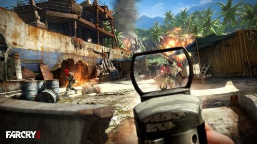 far Cry 3 überzeugt mit abwechslungreichen Missionen und einer großen Spielwelt. (Bild: Ubisoft)