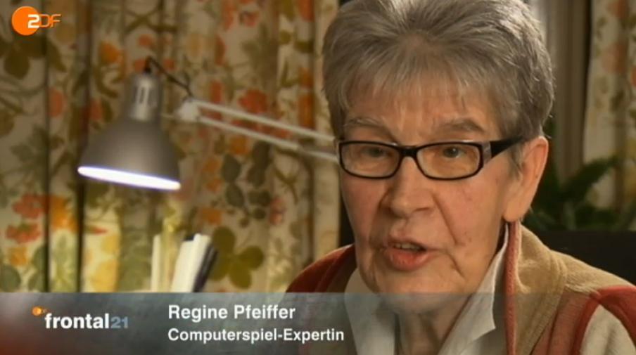 Schon gewusst? Sie ist die Schwester vom Kriminologen Dr. Christian Pfeiffer. (Foto: ZDF.de)