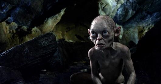 Natürlich auch dabei: Gollum mit einem kurzen aber eindrucksvollen Auftritt.