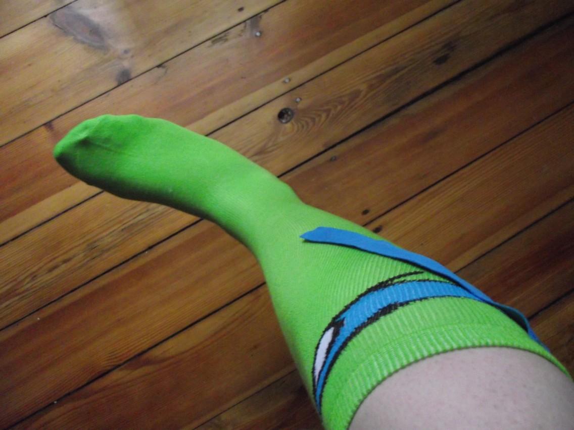 Grün, Grün, Grün sind alle meine Beine