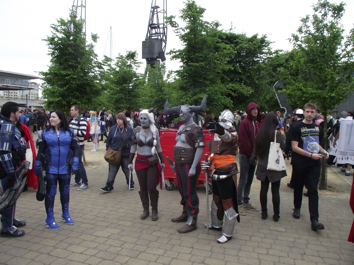Tolle Gruppen-Cosplays.