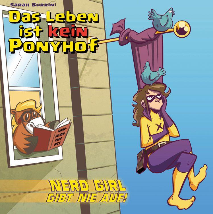 """Cover von """"Das lebe ist kein Ponyhof Band 3 – Nerd Girl gibt nie auf!"""" (Foto: Panini)"""